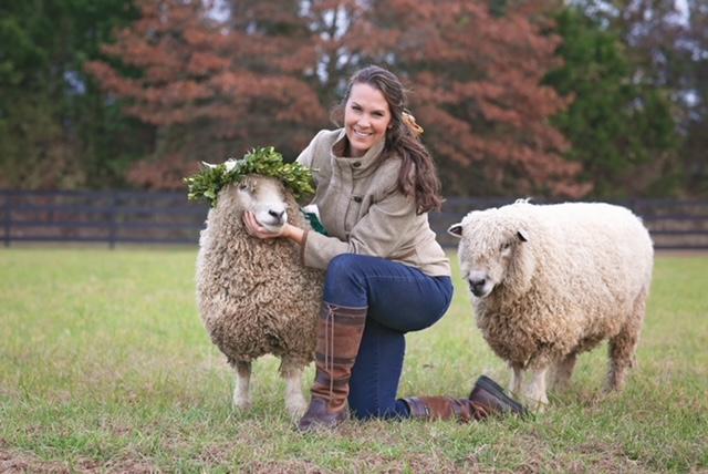 Laura Brittingham from Brittingham Farms in Millsboro, Delaware